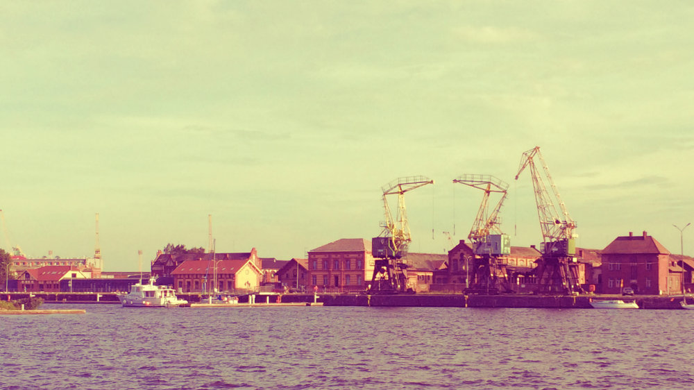 Old Stettin harbour