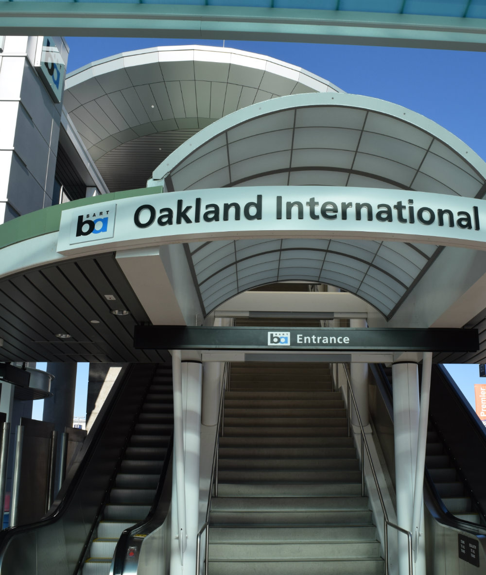 Best areas to stay in Oakland California - OAK Airport