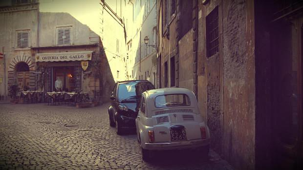 Staying in Rome's Old Town