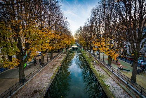 Best area to stay in Paris - Canal Saint Martin