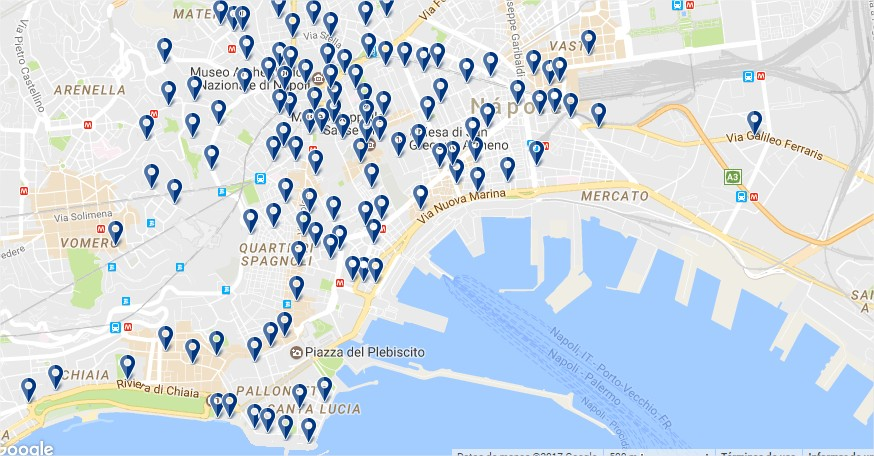 Hotels in Naples - Click to see all options on a map (opens in a new tab)