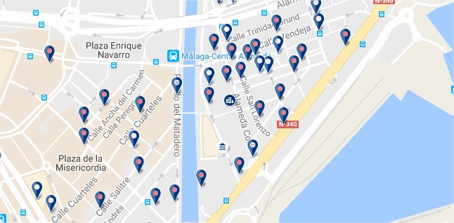 Soho - Malaga - Click to see all hotels on a map