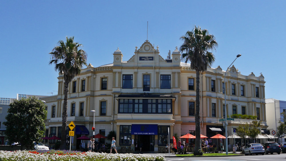 The Esplanade Hotel en Devonport - North Auckland