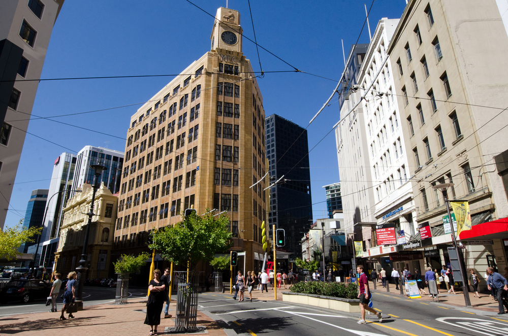 Stay in Wellington - Lambton Quay