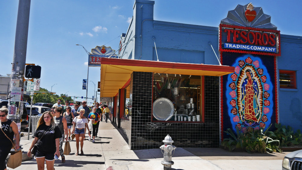 Top areas to stay in Austin - South Congress Street