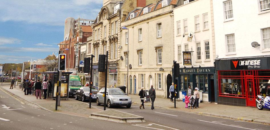 Best areas to stay in Bristol - Old Market
