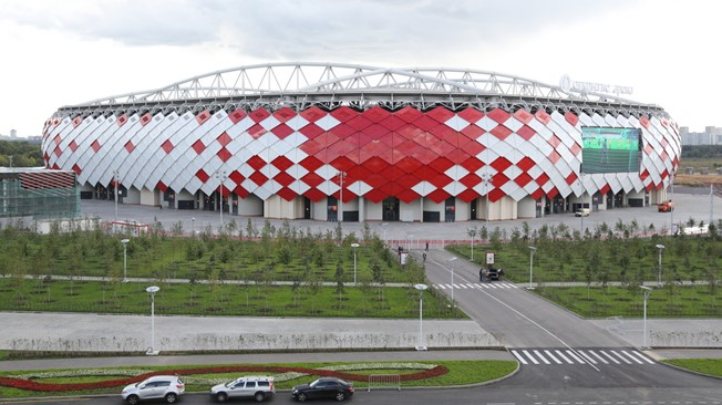 Best areas to stay during the Russia 2018 World Cup - Spartak Stadium