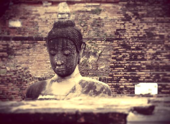Buddha at Wat Matahat Ayutthaya
