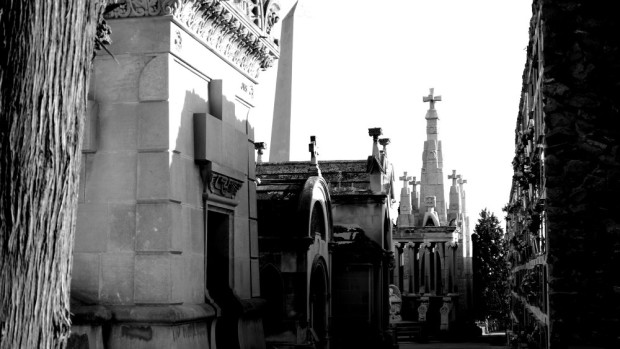 Mausoleums in Montjuïc