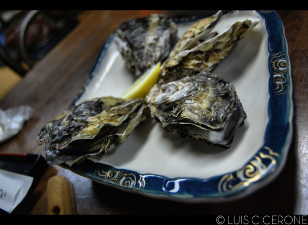 Oysters in Japan