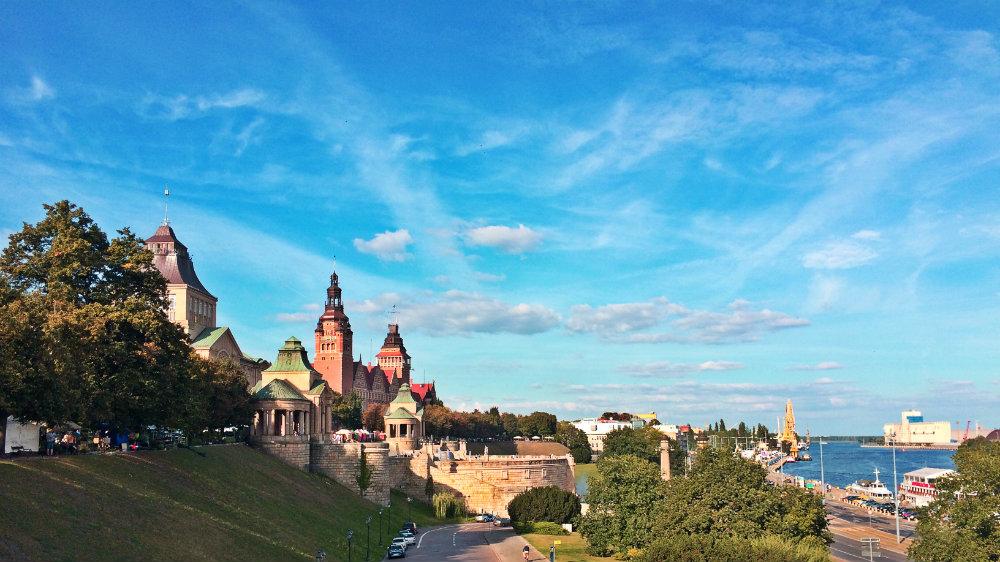 Waly Chrobrego Szczecin Poland