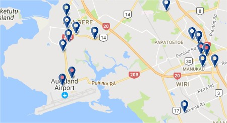 Auckland Airport - Click to see all hotels