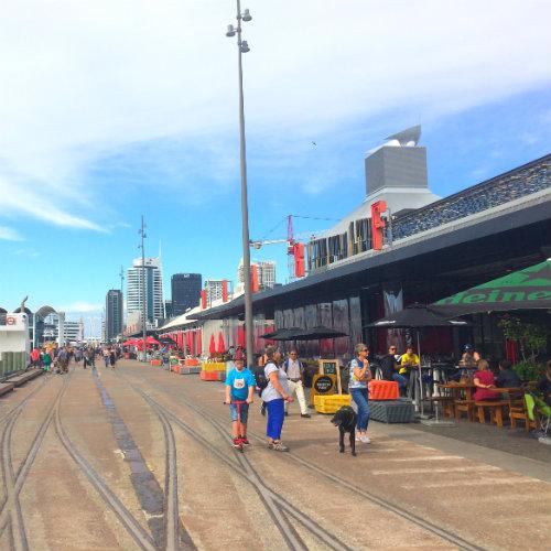 Auckland - Viaduct Harbour