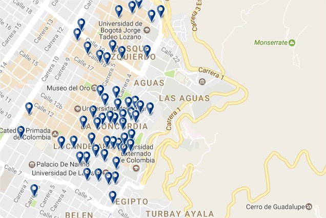 Stay in La Candelaria - Click to see all hotels