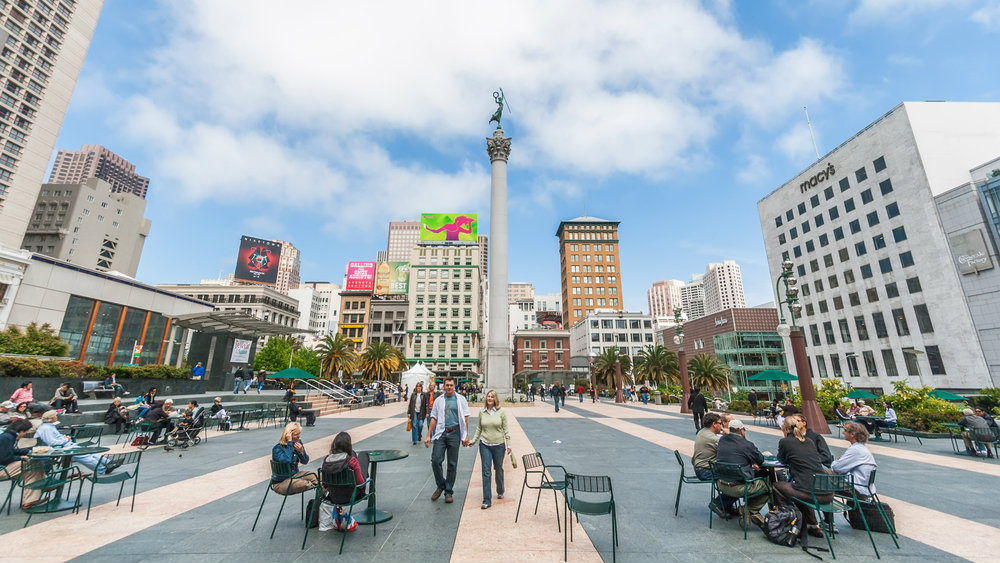 Top areas to stay in San Francisco - Union Square