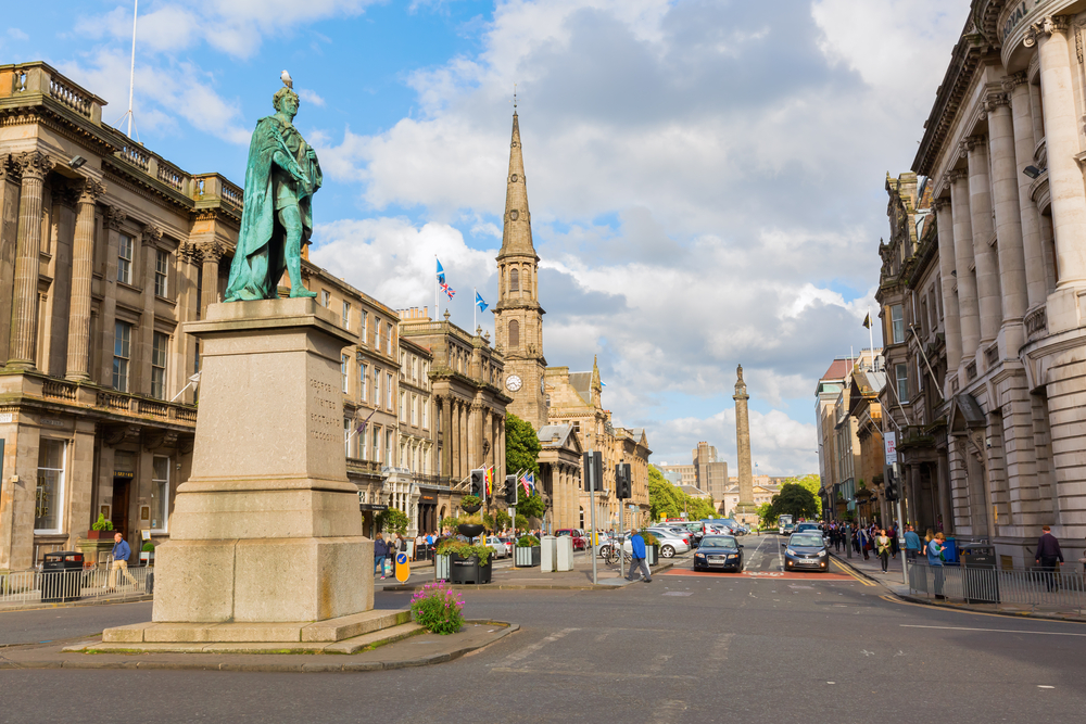 New Town - Best areas to stay in Edinburgh