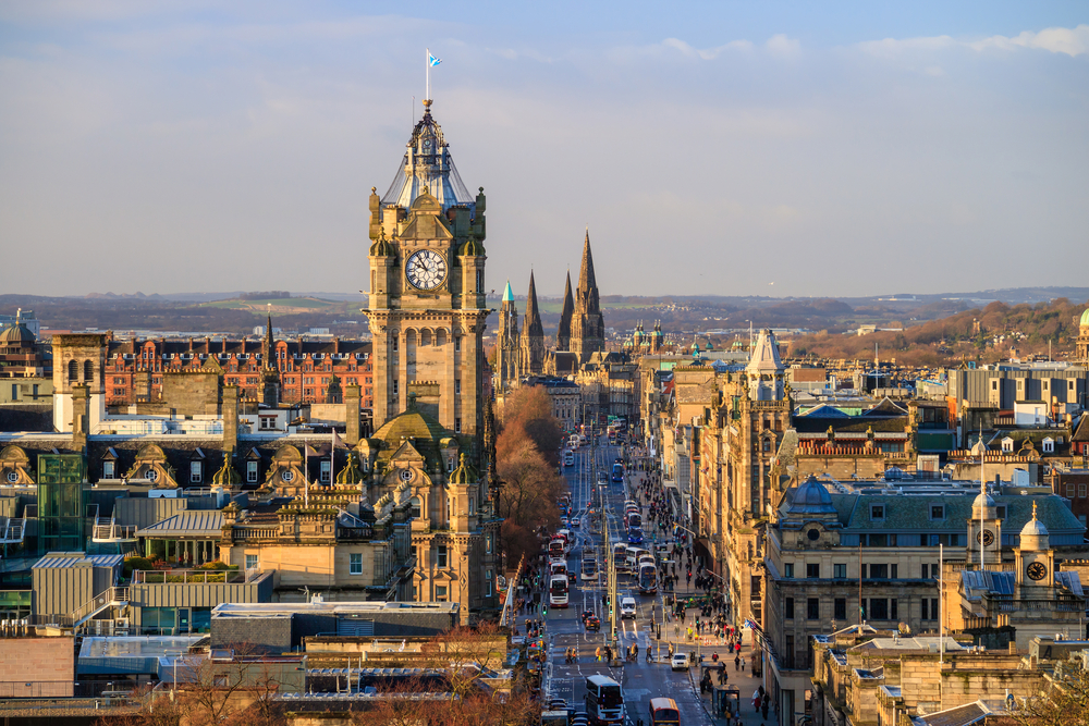 Old Town - Best areas to stay in Edinburgh