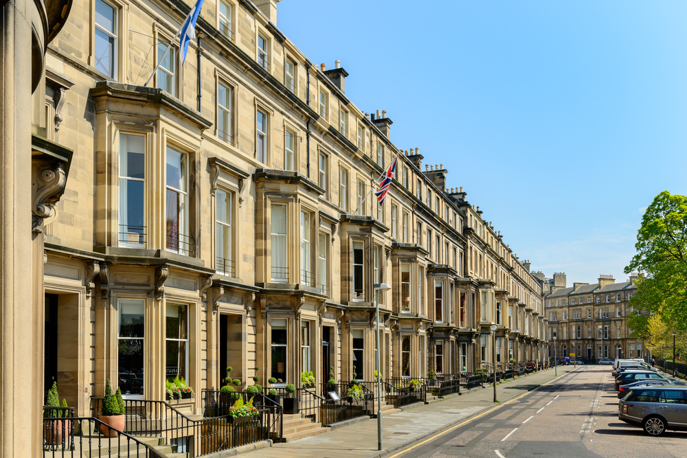 West End - Best districts to stay in Edinburgh