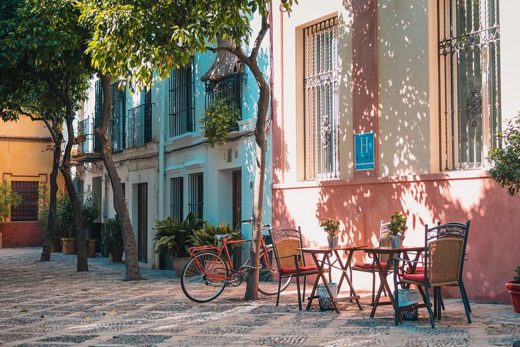 Dove alloggiare a Siviglia - Santa Cruz