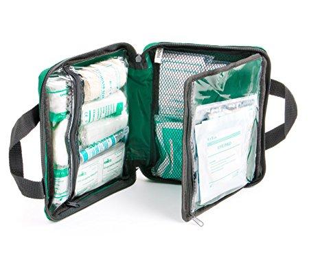 Botiquín de viajes - Verde - Compartimentos