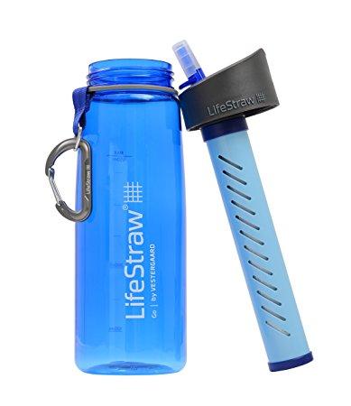 Filtro de agua y botella LifeStraw GO