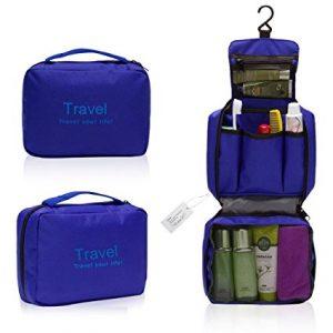 Organizador viajero para productos de aseo personal