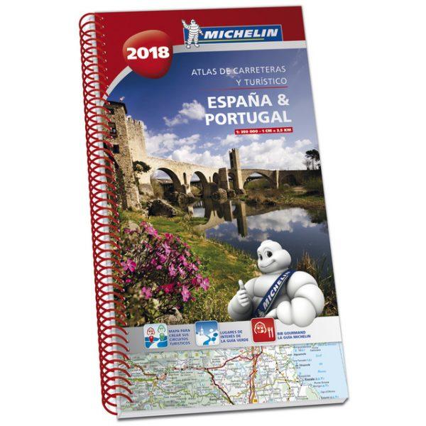 Atlas de carreteras y turístico de España y Portugal