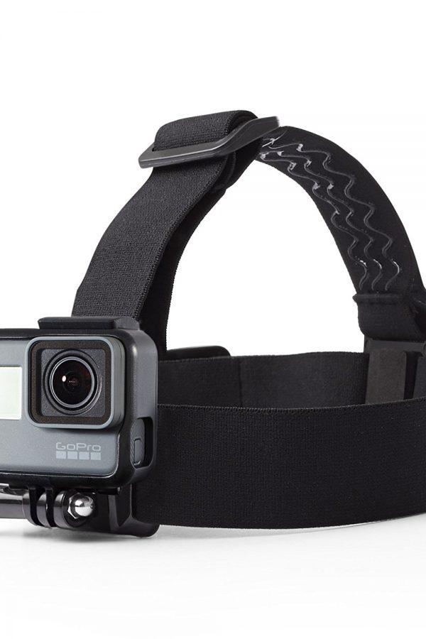 Montura de cabeza con correas para cámaras GoPro