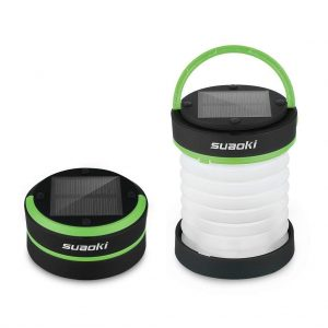 Mini linterna plegable de camping Suaoki
