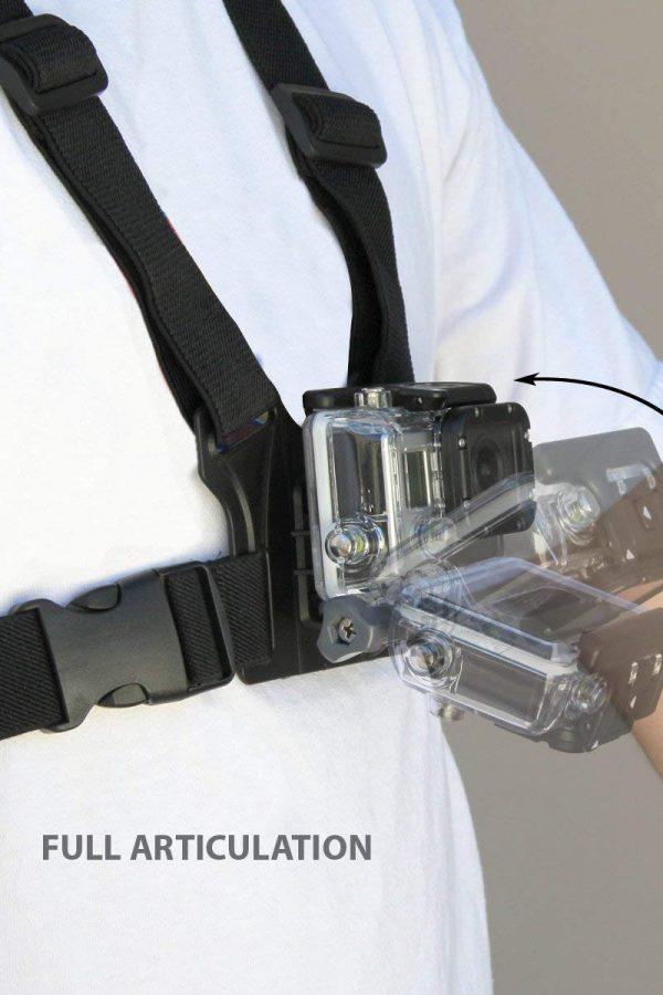 Arnés de pecho para cámara deportiva USA Gear