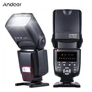 Flash automático para cámaras reflex Andoer