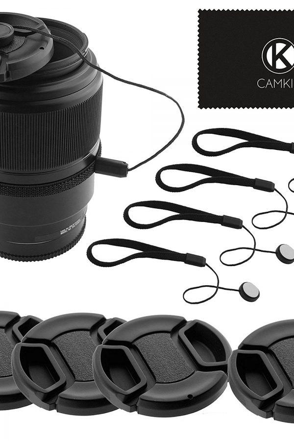 Tapas para objetivos de cámaras reflex Camkix