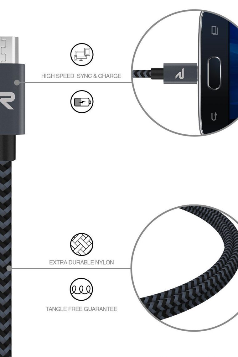 Cable micro USB Rampow