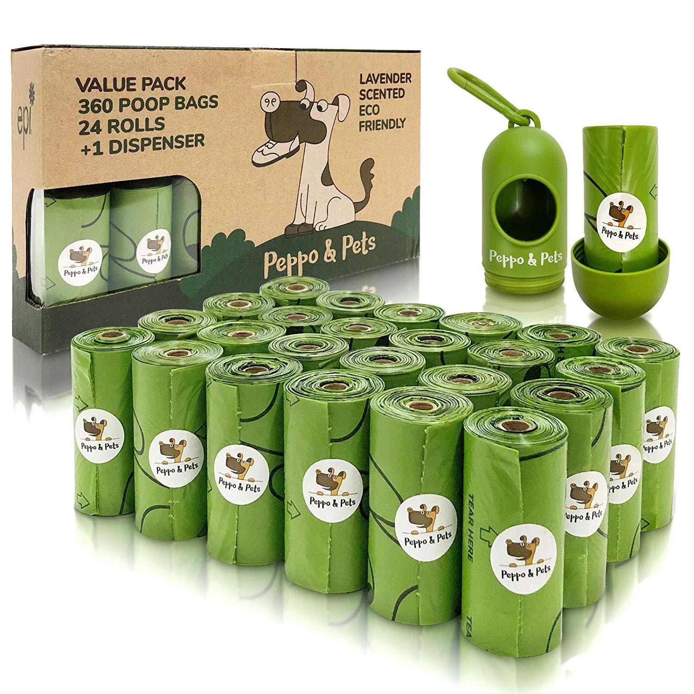 Bolsas higiénicas para mascotas Peppo and Pets