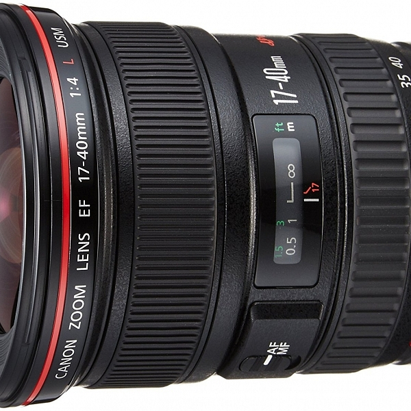 Objetivo Canon EF 17-40mm
