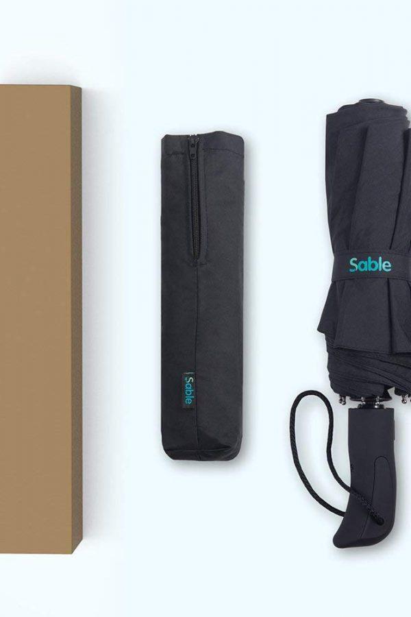 Paraguas de viaje plegable Sable