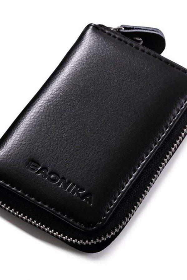 Tarjetero con bloqueo RFID Baonika