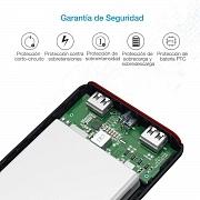 Power bank batería externa Poweradd
