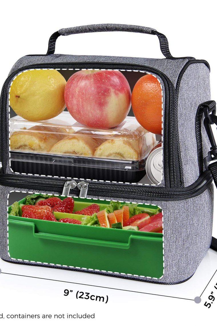Bolsa térmica porta alimentos Lifewit