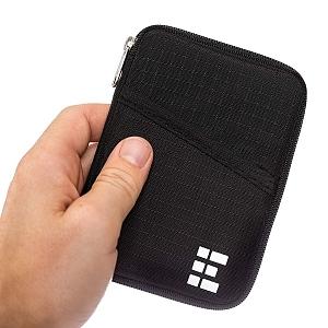 Funda para pasaporte con bloqueo RFID Zero Grid