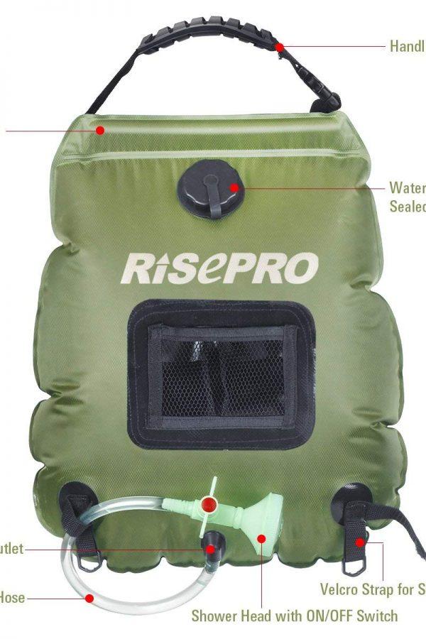 Ducha portatil Risepro