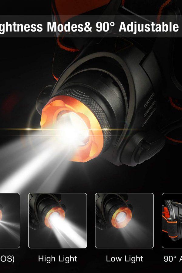 Linterna frontal LED Omeril