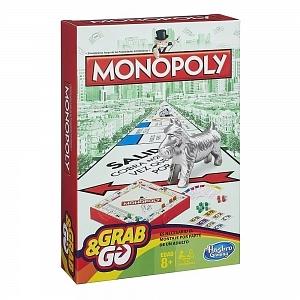 Juego de mesa Monopoly viajero Hasbro