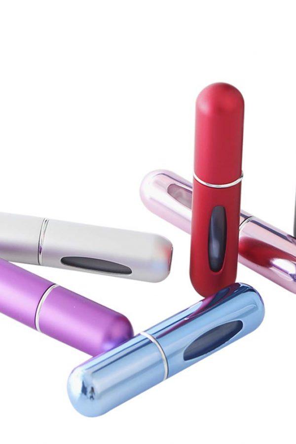 Botellas portatiles recargables para perfume Songer