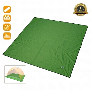 Alfombrilla para camping overmont