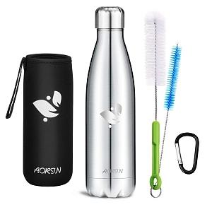 Botella para agua de acero Aorin