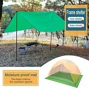 Alfombrilla para camping overmont