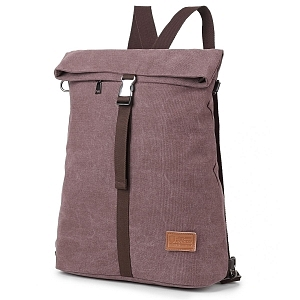Bolso mochila estilo vintage Kebos