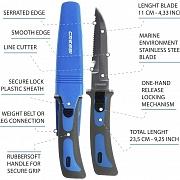 Cuchillo de buceo Cressi