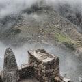 La cima del Huayna Picchu